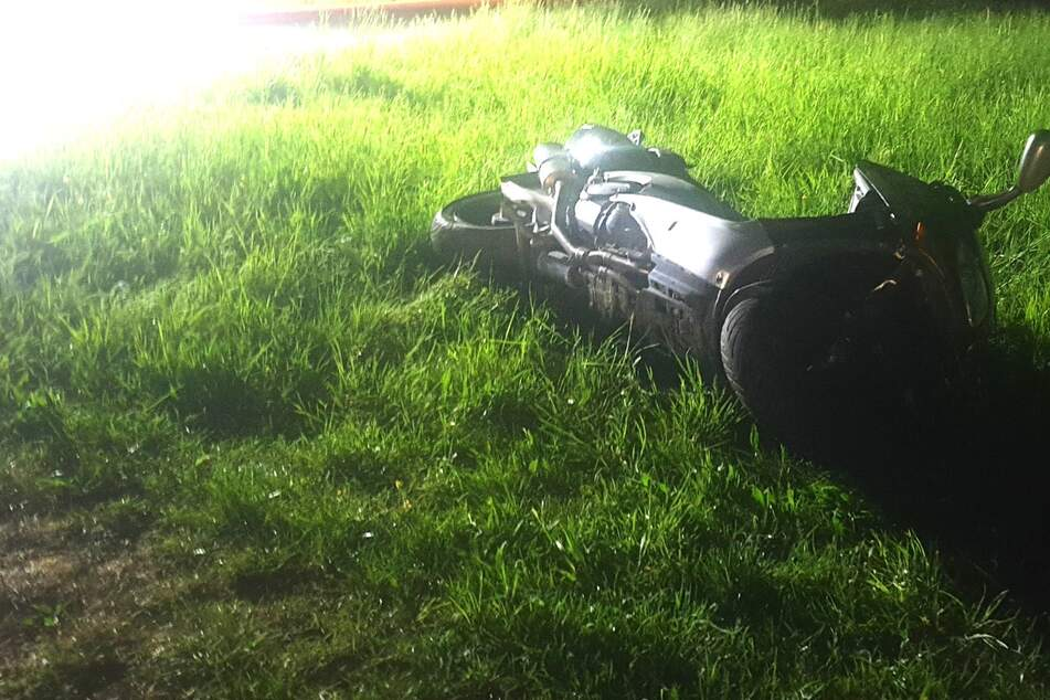 Der Biker verlor bei dem Unfall in Illingen sein Leben.