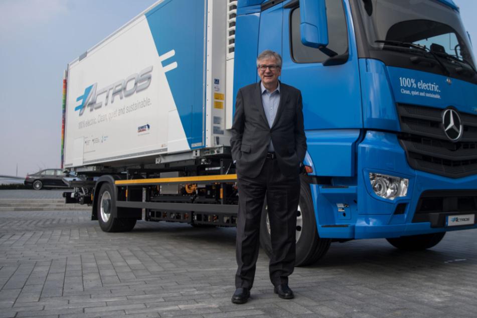 Daimler Trucks will mit Brennstoffzellen durchstarten
