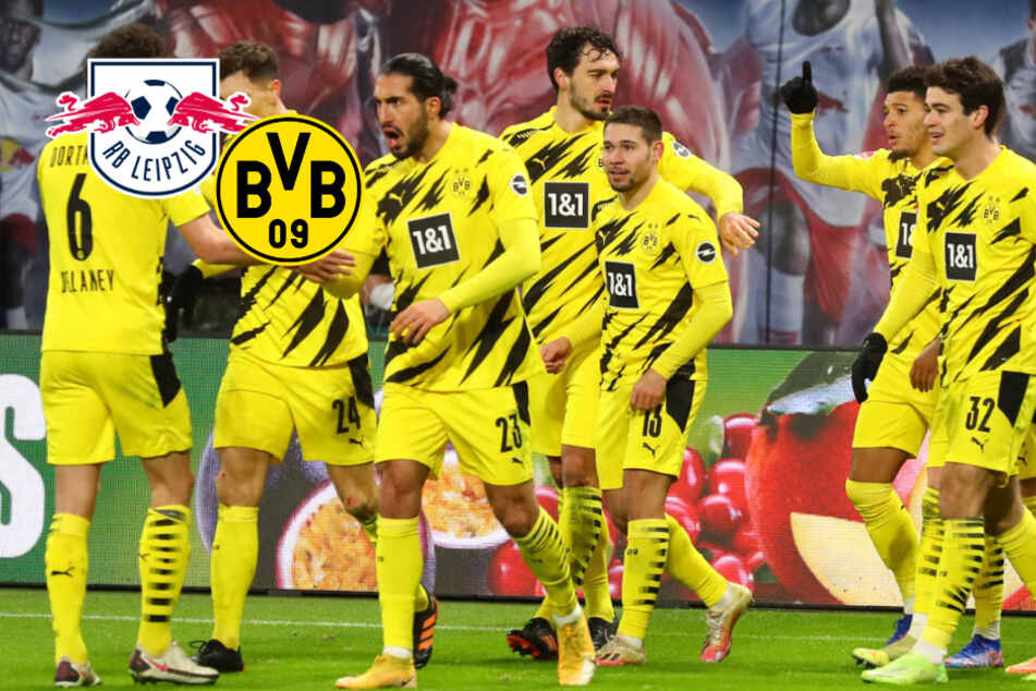 Haaland und Sancho knacken RB Leipzig im Liga-Kracher! Big Points für BVB