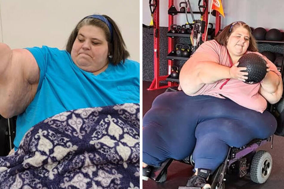 Brit ditches everything and moves to Arizona to marry one of the largest women in the world