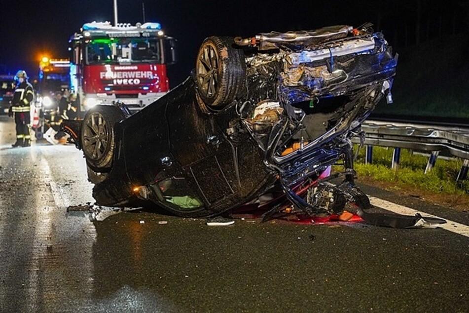 Unfall A6: Tödliches Aquaplaning auf der A6: Mann wird aus BMW geschleudert und stirbt