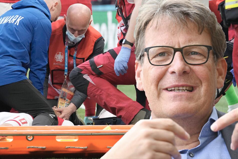 ZDF weist Kritik an EM-Übertragung beim Kollaps von Eriksen zurück