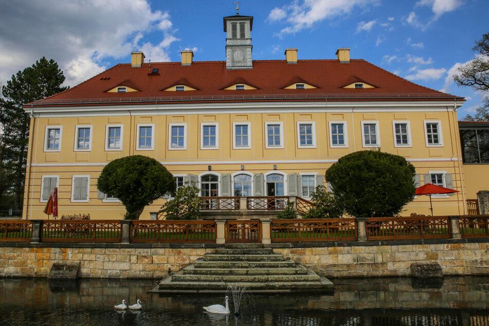 Ein schöner Ort für das Richard-Wagner-Festival: das Jagdschloss Graupa.
