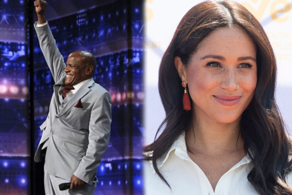 "In the latest episode of ""America's Got Talent"" the Duchess of Sussex addressed a special message to singer Archie Williams."