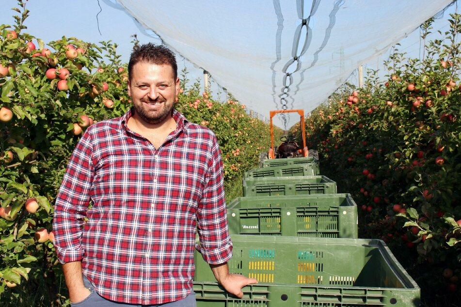 """Landwirt Christoph hat sich nach Italien zwei """"Hofdamen"""" eingeladen hat sich bei """"Bauer sucht Frau International"""" zwei Damen ausgesucht - doch alles kommt anders.© TV NOW"""