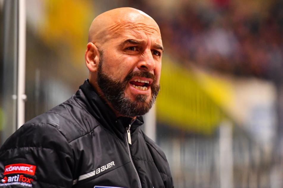 Eislöwen-Coach Rico Rossi.