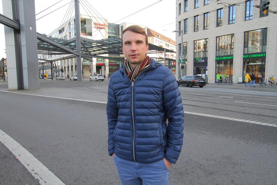 Setzt sich für die Gastro-Erleichterungen ein: Vize-Kreis-Chef Marko Beger (39, FDP).