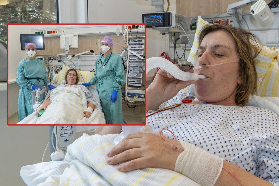 Coronavirus: Krankenschwester am Dresdner Uniklinikum erfolgreich mit Remdesivir behandelt