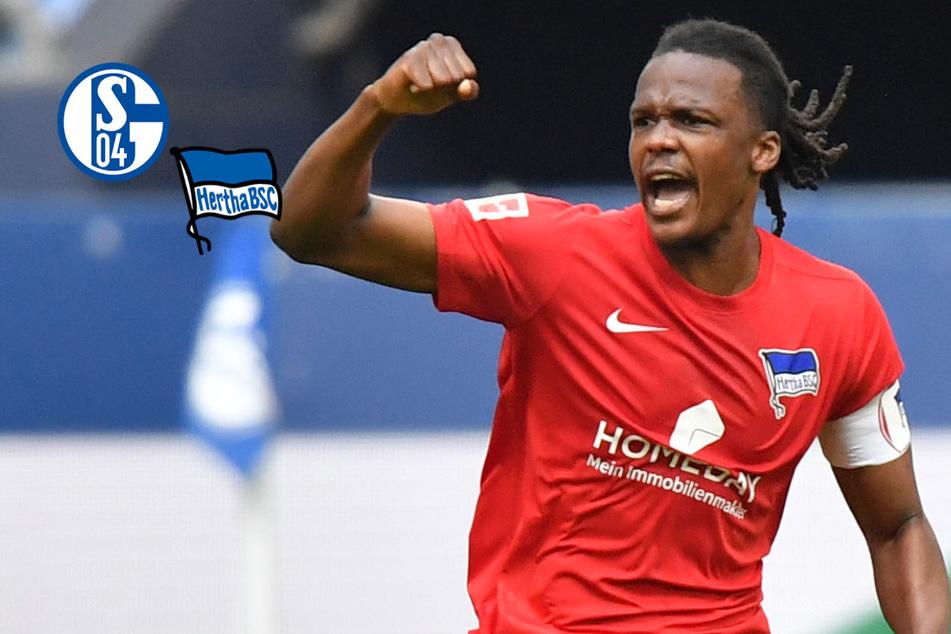 Joker Ngankam entscheidet Abstiegskrimi: Hertha schlägt Schalke und verliert Piatek