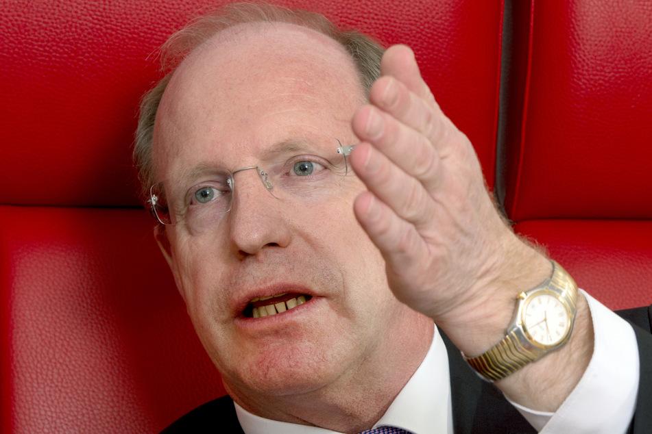 Innenstaatssekretär Wilfried Klenk (62, CDU) befürchtet ein Nachwuchsproblem beim Bevölkerungsschutz.