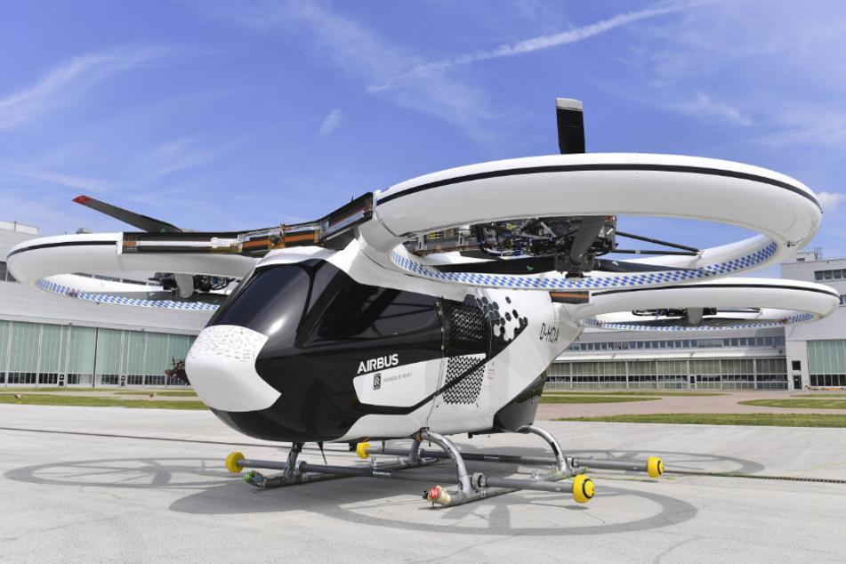 Das geplante Flugtaxi von Airbus.