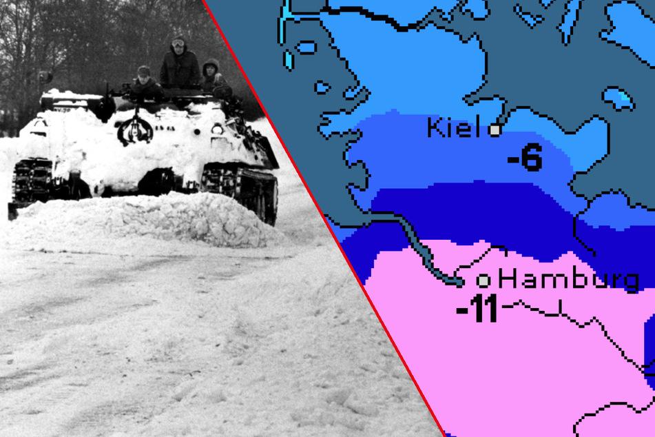 Trifft der Schneesturm Hamburg? So wird das Wetter am Wochenende