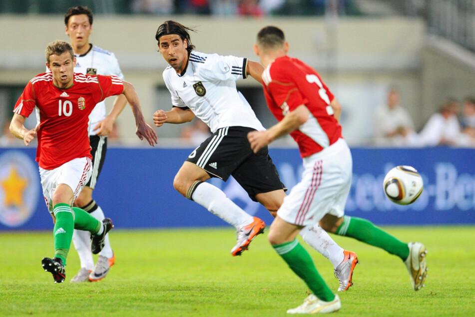 Sami Khedira (33, 2.v.r.) absolvierte für Deutschland 77 Länderspiele (sieben Tore). Die Krönung war der Gewinn der Weltmeisterschaft 2014.