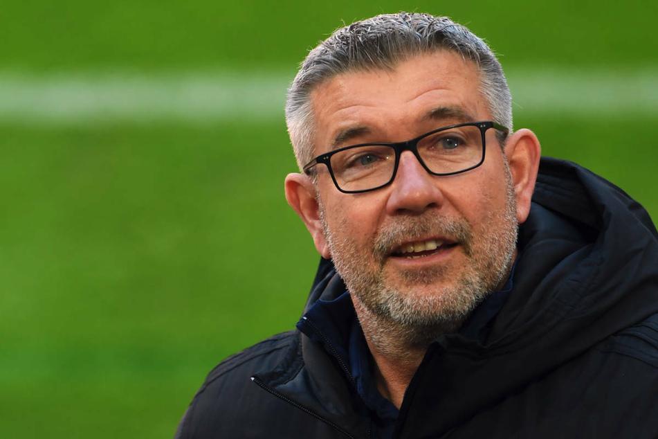 Union-Coach Urs Fischer (55) weiß, dass gegen Borussia Dortmund eine schwere Aufgabe auf seine Mannschaft wartet.