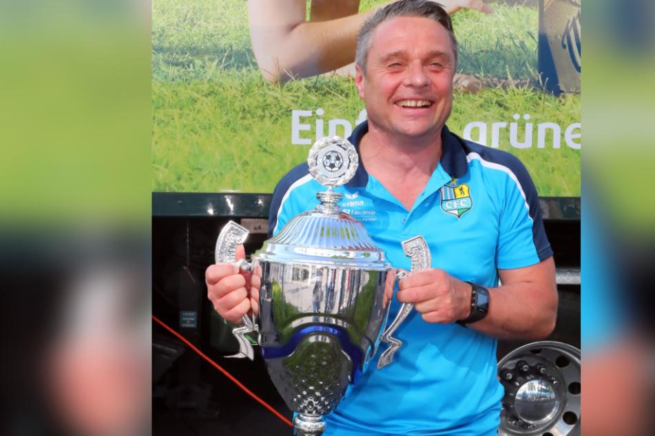 Mit dem CFC konnte Olaf Renn im Mai 2019 die Regionalliga-Meisterschaft feiern.
