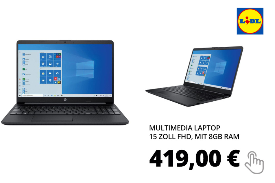 Multimedia Laptop 15 Zoll FHD