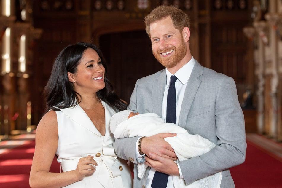 Prinz Harry und Herzogin Meghan präsentieren Baby Archie