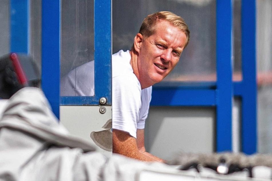 St.-Pauli-Trainer Timo Schultz (43) machte seiner Mannschaft trotz der Niederlage keinen Vorwurf.