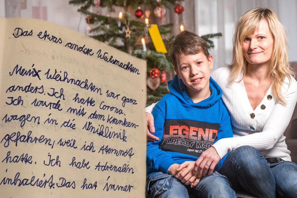 Dresden: Pandemie-Schicksal: Zehnjähriger schreibt bewegenden Aufsatz über seine Corona-Erkrankung