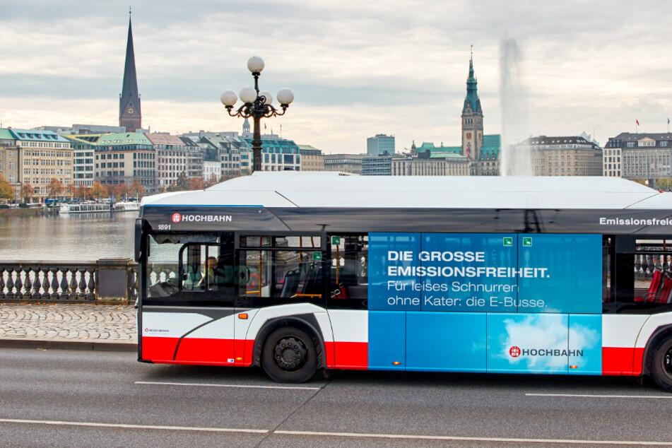 Hamburg: HVV wird klimafreundlich: Hochbahn bestellt Hunderte Elektrobusse