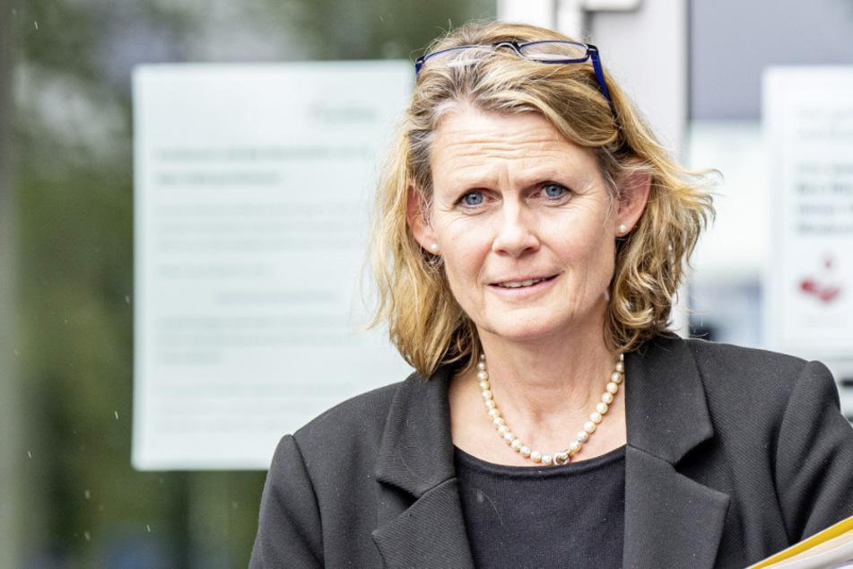Detmolder Regierungspräsidentin Judith Pirscher (53, FDP).