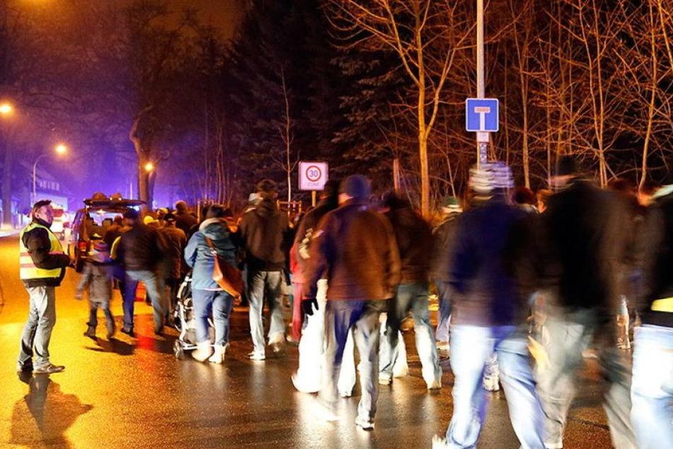 Schon wieder Demo in Chemnitz