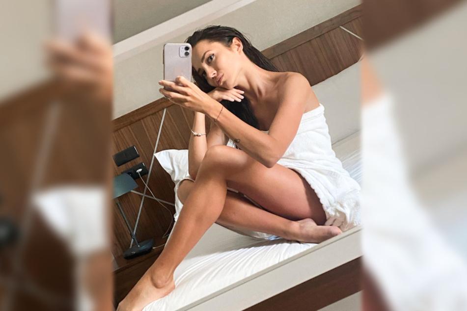 Das Bild zeigt einen weiteren Screenshot aus dem Instagram-Profil des 31-jährigen Models.