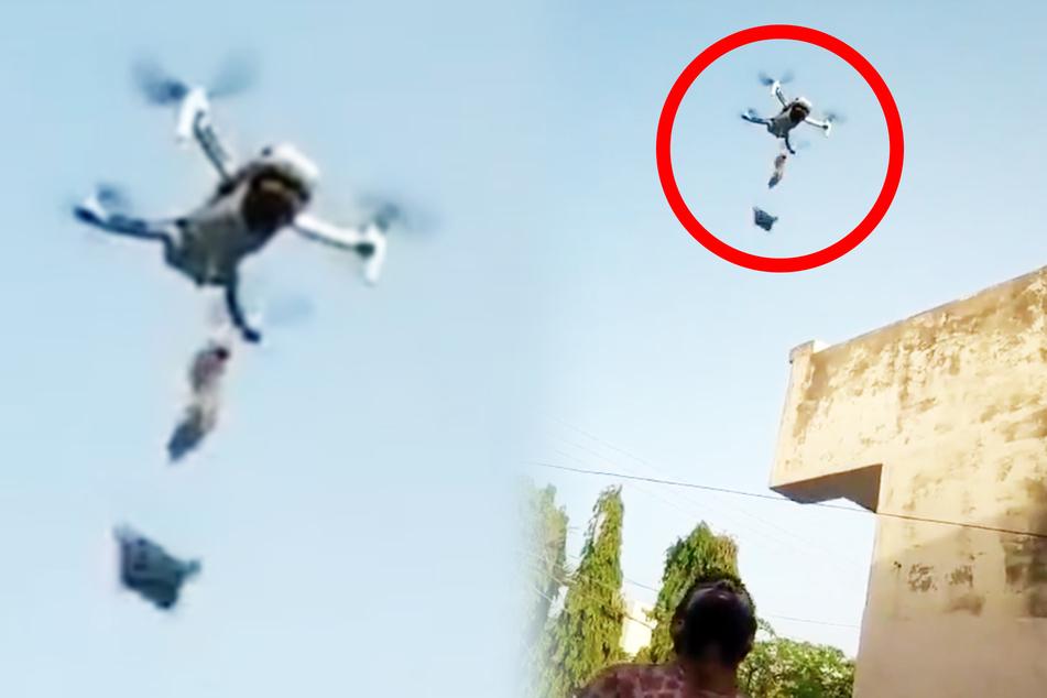 Munderfrischer per Drohne geliefert: Festnahme!