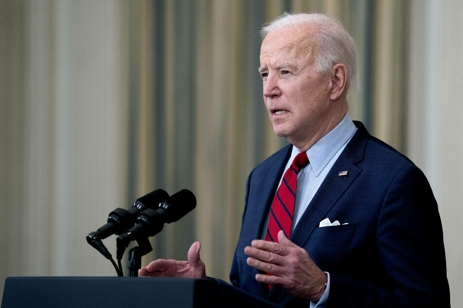 President Biden delivers remarks on the mass shooting in Boulder, Colorado.