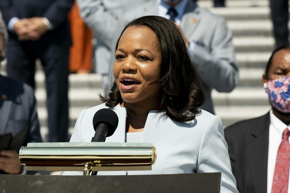 Kristen Clarke is said to be Biden's pick to lead the Justice Department's Civil Rights Division.