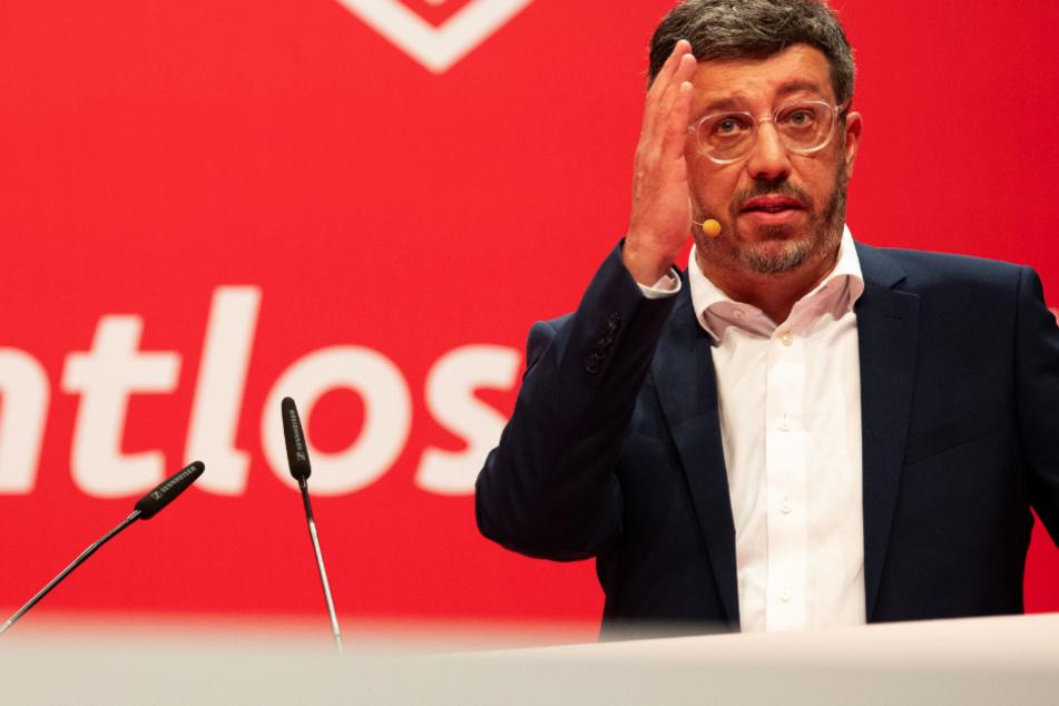 Präsident Claus Vogt gibt beim VfB Stuttgart die Richtung vor.