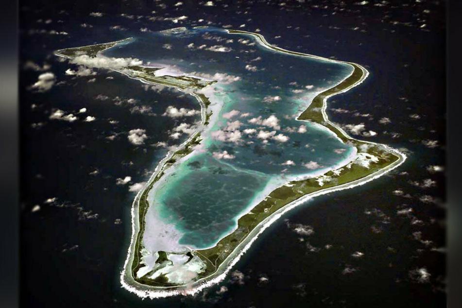 Sogar auf dem winzigen Atoll Diego Garcia im Indischen Ozean gibt es FCE-Mitglieder.