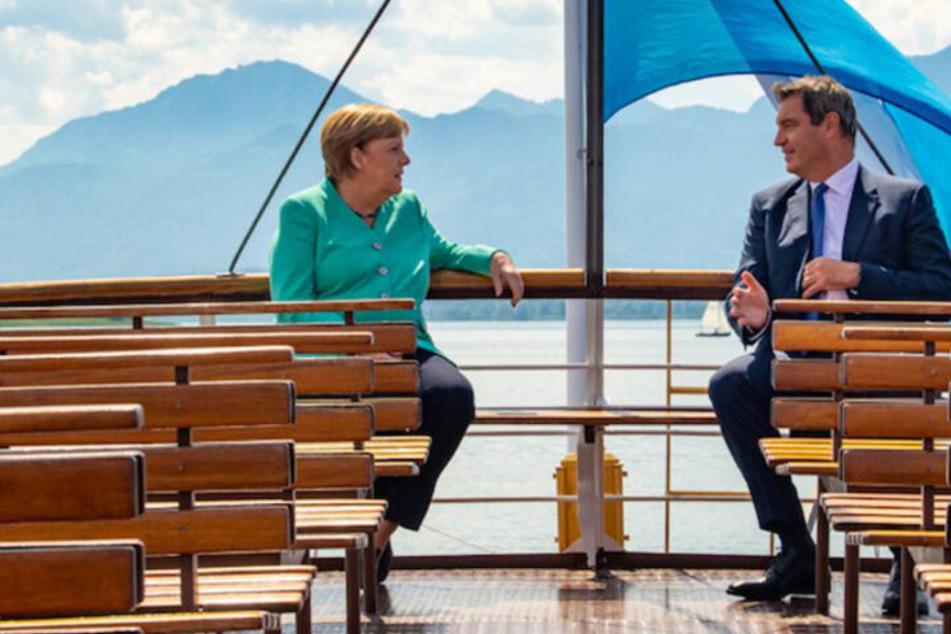 München: Merkel-Besuch mit Söder auf Herrenchiemsee: So viel hat der Spaß gekostet