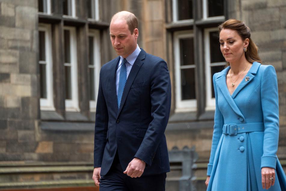 Prinz William und Herzogin Kate (beide 39) sollen angeblich von Lilibets Taufe ausgeschlossen sein.
