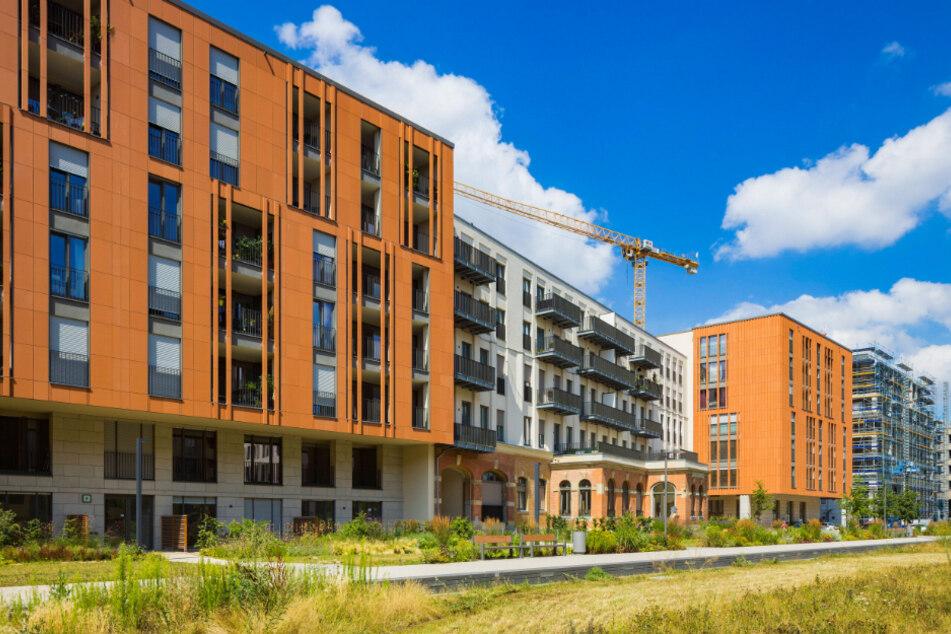 Wie viele Sozialwohnungen müssen in Neubauprojekte wie hier am Postplatz? Im Rat wurde darüber heftig gestritten.
