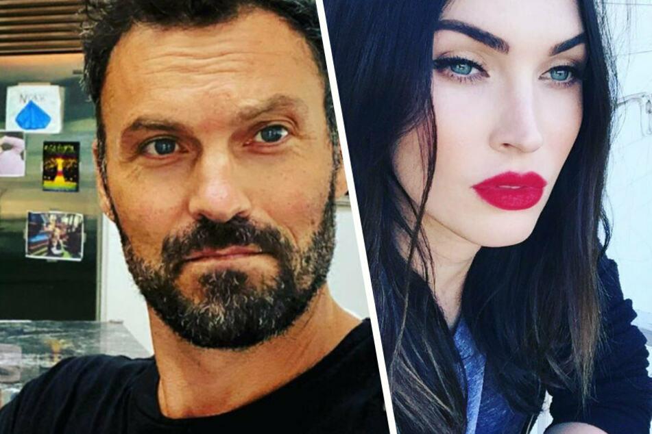 Megan Fox (34) ist stinksauer! Anlass dafür ist ein Schnappschuss auf dem Instagram-Account ihres Ex-Mannes Brian Austin Green (47, links).