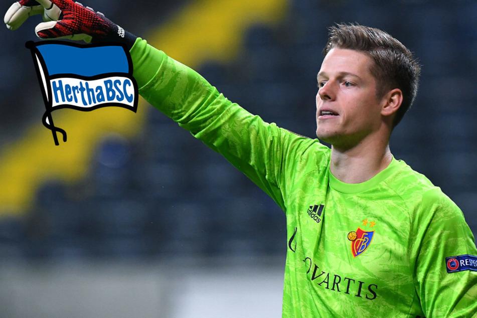 Wird Jonas Omlin Herthas neue Nummer eins?