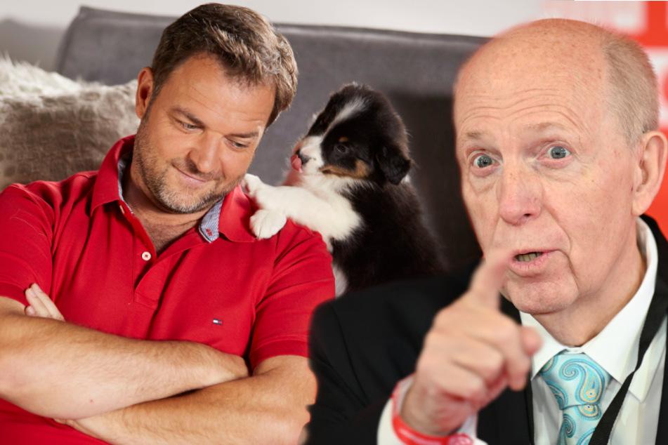 Schafft Reiner Calmund die 100-Kilo-Marke? Hundeprofi Martin Rütter wettet dagegen