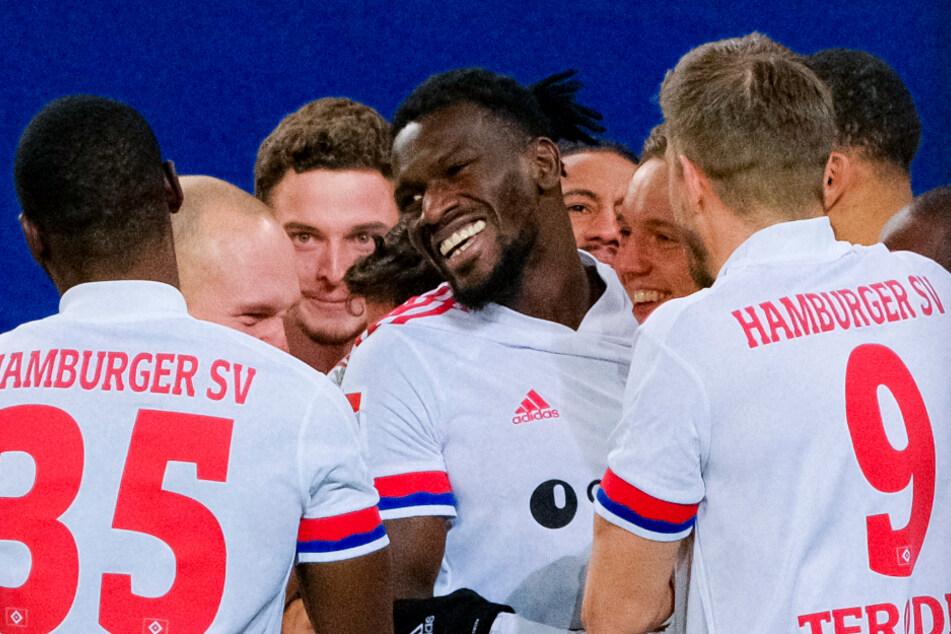 Der 22-jährige Gambier ist bei seinen HSV-Mitspielern und den Fans des Vereins gleichermaßen beliebt. (Archivfoto)
