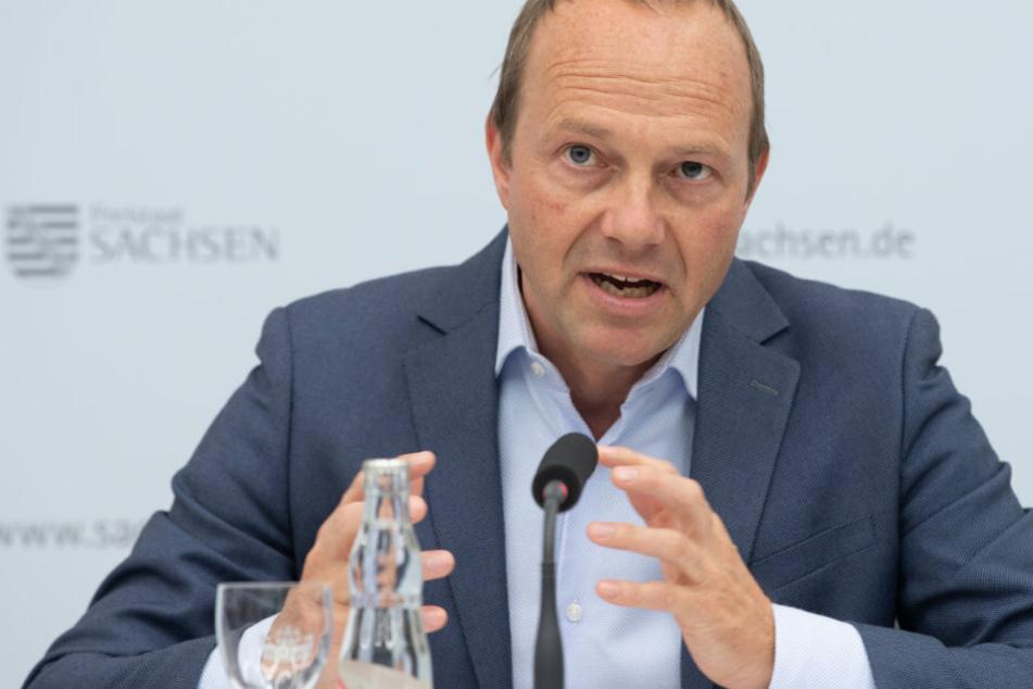 Sächsischer Staatsminister Wolfram Günther positiv auf Corona getestet