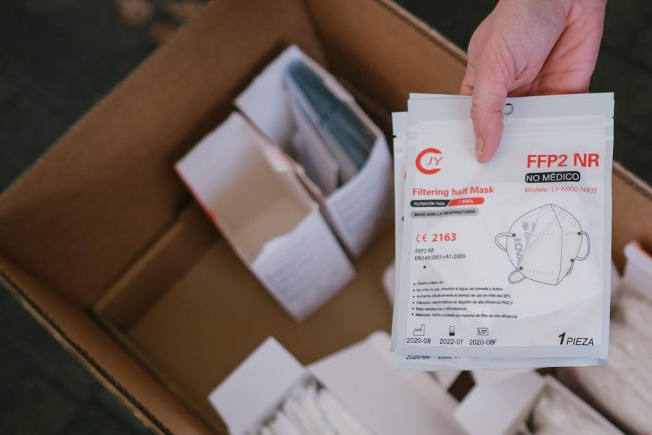 Verband will kostenlose FFP2-Masken für Bauarbeiter