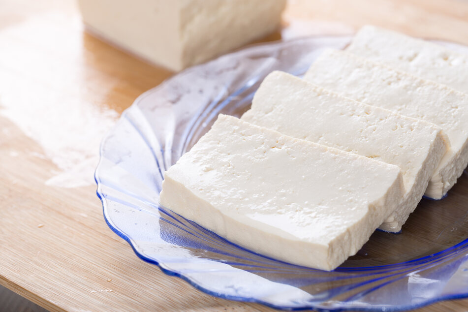 Tofu is becoming increasingly popular not only with vegetarians or vegans (stock image).