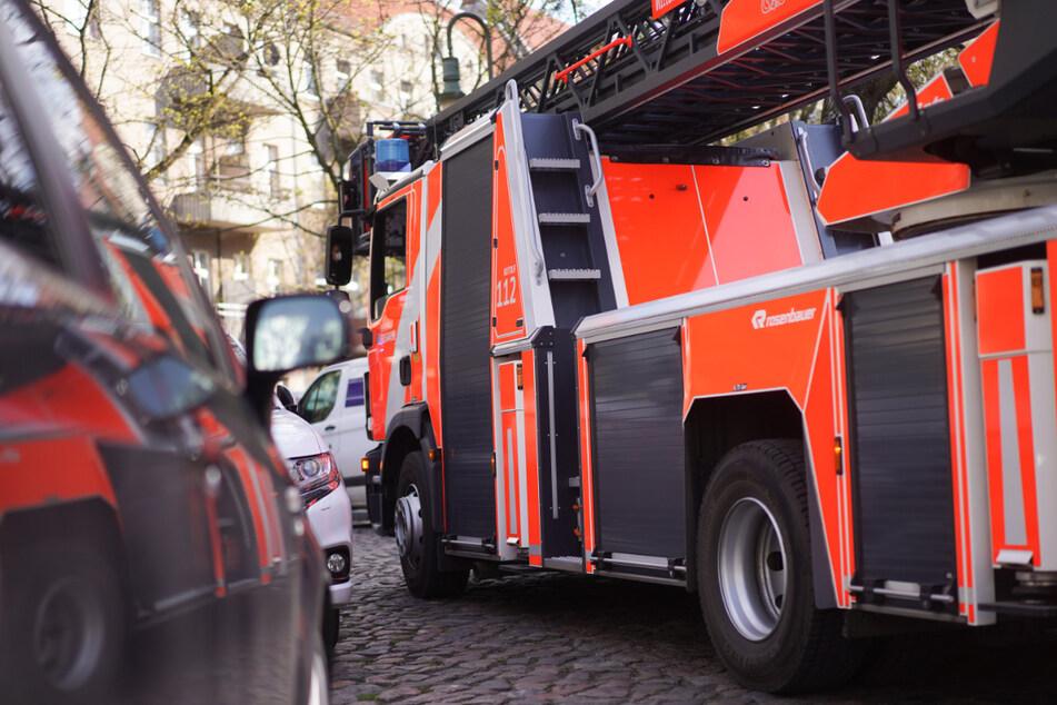 Die Feuerwehr kontrollierte die betroffenen Bereiche. (Symbolfoto)