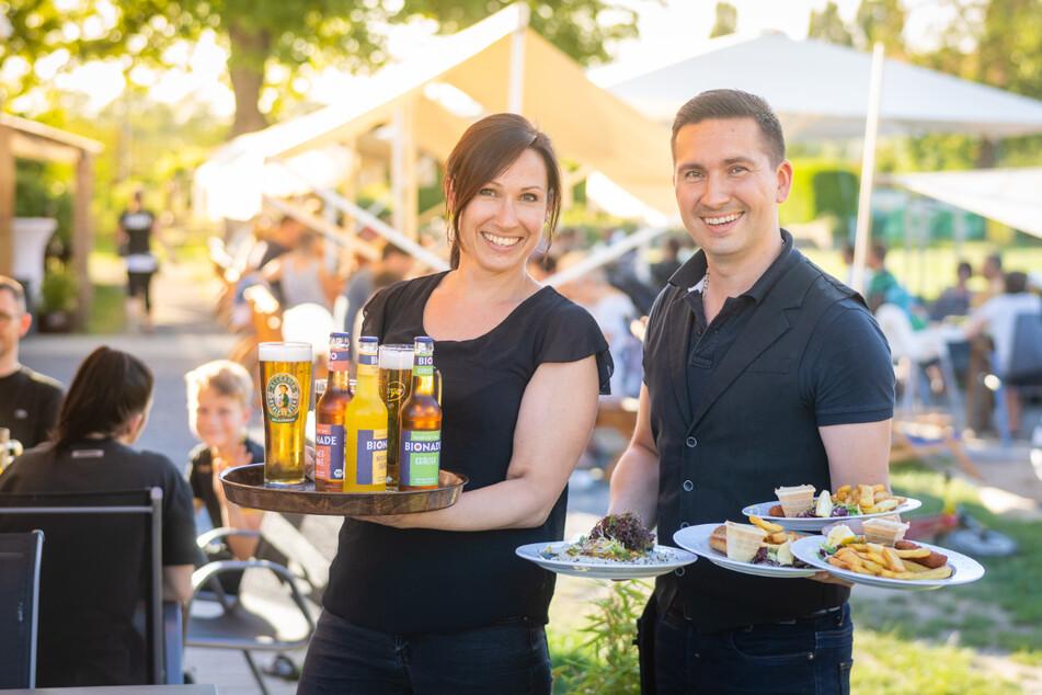Torsten Hanke (38) und seine Schwester Jana Martin (39) sind die Chefs im Rudolphia.