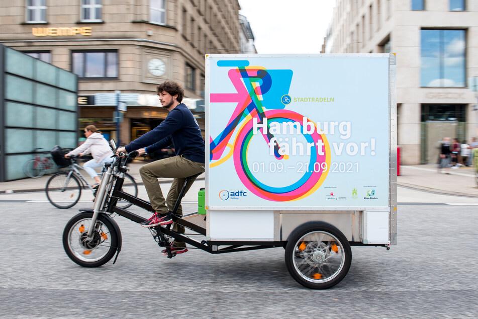 """Beim """"Stadtradeln"""" geht es um den deutschlandweiten Wettbewerb der meisten gesammelten Fahrradkilometer."""