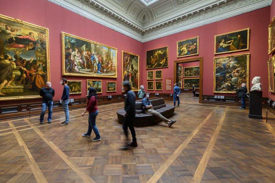 Ein aktuelles Bild aus der Gemäldegalerie Alte Meister: Interessierte können das Museum ab dem heutigen Montag wieder besuchen.