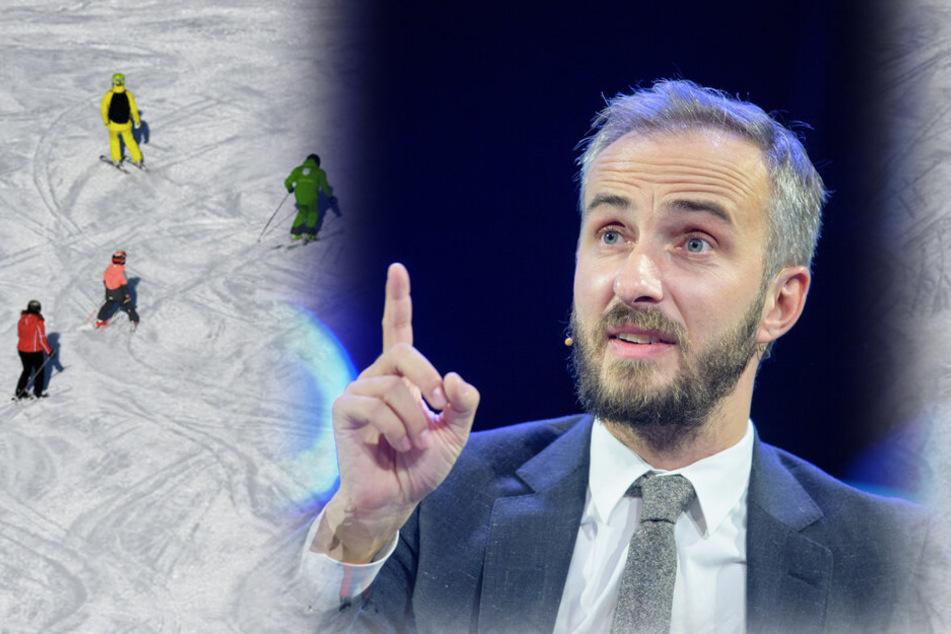 Böhmermann samt Team im Ischgl-Winterurlaub?