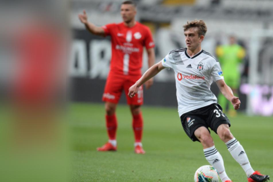 Ridvan Yilmaz ist 19 Jahre alt und steht noch bei Besiktas Istanbul unter Vertrag.