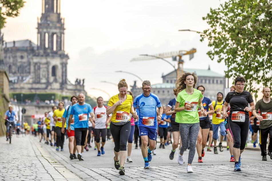 Anders als im Vorjahr dürfen die Läufer am Mittwoch und Donnerstag wieder zusammen auf die Strecke.