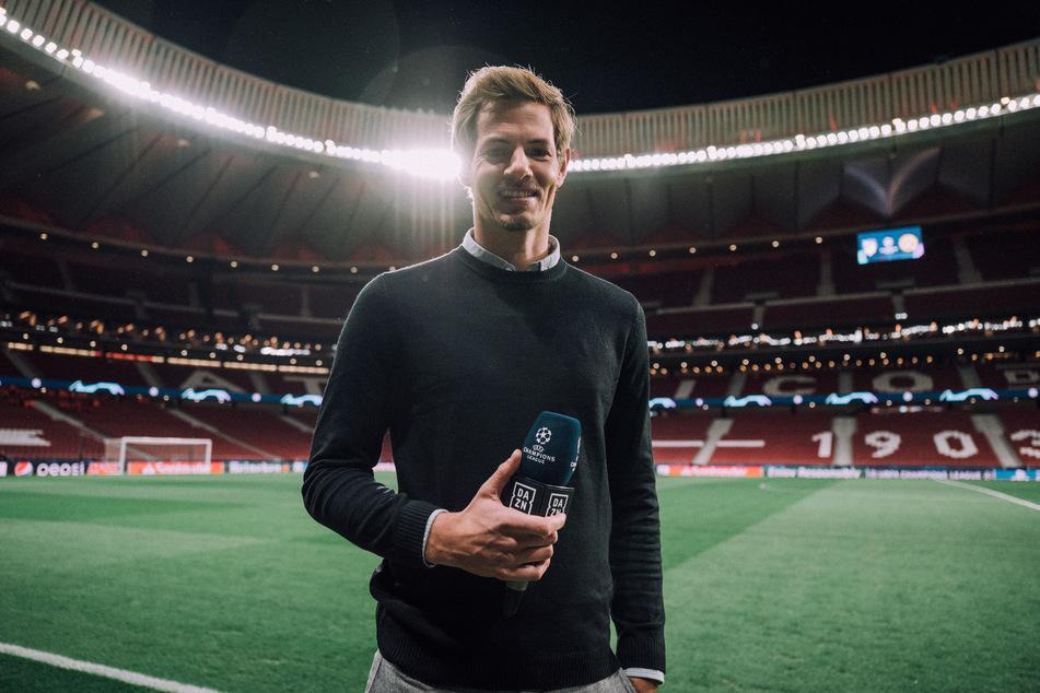 Alex Schlüter (35) wird RB Leipzigs Champions-League-Auftakt gegen Istanbul Basaksehir am Dienstagabend für DAZN moderieren.